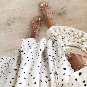 ❤ Studded Sandals